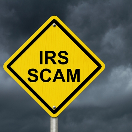 Irs Scam Warning Sign